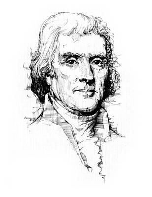 Thomas Jefferson Poster by Michael Johnson