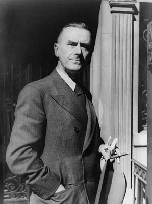 Thomas Mann, 1875-1955 German Novelist Poster by Everett
