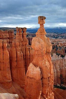 Thors Hammer At Sunrise Bryce Canyon National Park Poster by Brian M Lumley