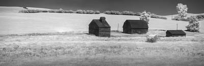 Three Barns Idle Poster by Jon Glaser