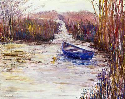 Tidal Marsh Poster by Julia S Powell