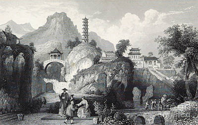 Tiger Hill Temple And Yunyan Pagoda Poster by British Library