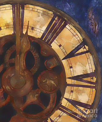 Time Askew Poster by Barb Pearson