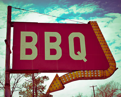 Time For Bbq Poster by Sonja Quintero