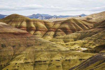 Time In Layers Poster by Belinda Greb