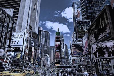 Times Square Poster by Joachim G Pinkawa