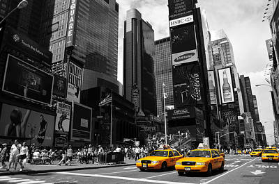 Times Square Poster by Mandy Wiltse