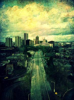 To The City Poster by Cathie Tyler