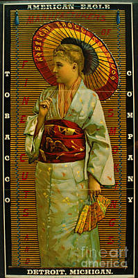 Tobacco Ad 1884 Poster by Padre Art