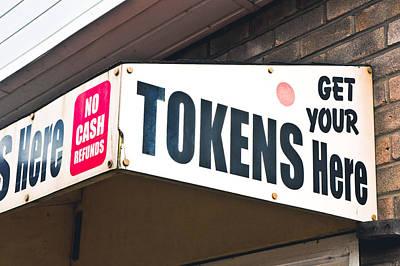 Token Kiosk Poster by Tom Gowanlock