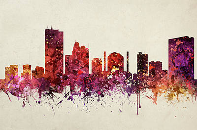Toledo Cityscape 09 Poster by Aged Pixel