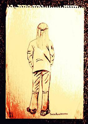 Tom Boy Poster by Sheri Parris