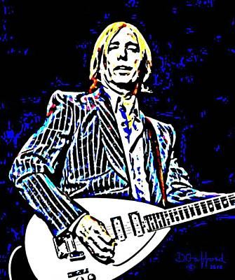 Tom Petty Poster by Dave Gafford