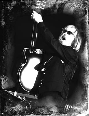 Tom Petty Poster by Lucrecia Cuervo