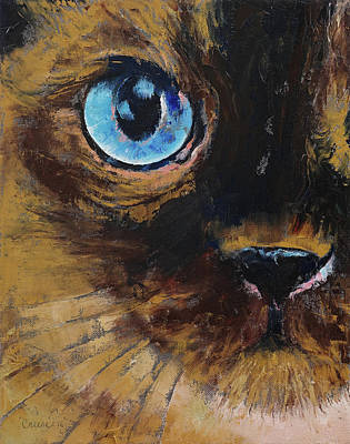 Tonkinese Poster by Michael Creese