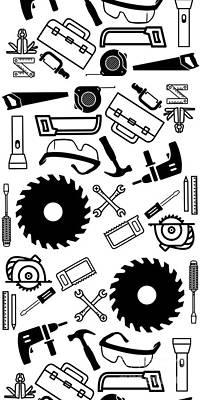 Tool Belt 1 Phone Case Poster by Edward Fielding