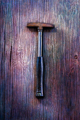 Tools On Wood 74 Poster by YoPedro
