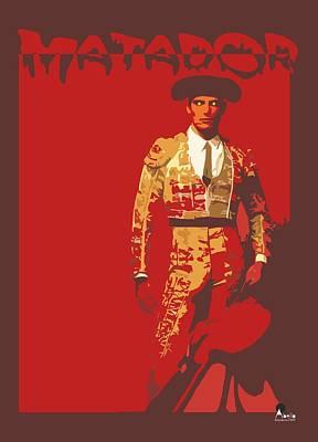 Torero Poster by Joaquin Abella