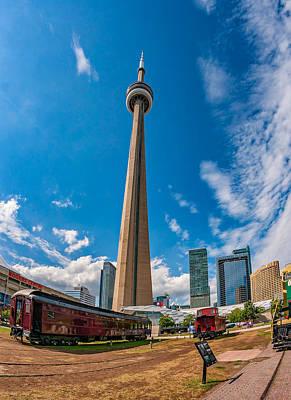 Toronto Cn Tower 3 Poster by Steve Harrington