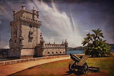 Torre De Belem Lisbon Poster by Carol Japp