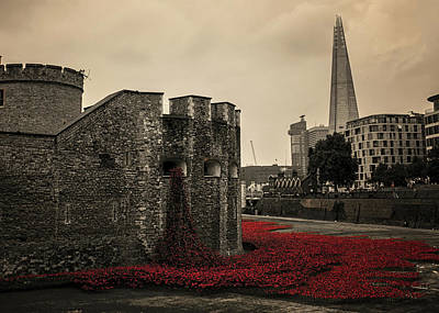 Tower Of London Poster by Martin Newman