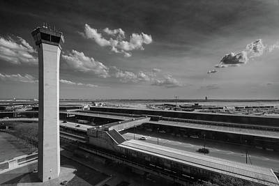 Tower O'hare Airport Poster by Steve Gadomski