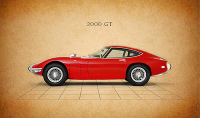 Toyota 2000 Gt Poster by Mark Rogan