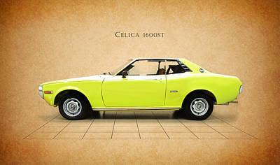 Toyota Celica 1600 St Poster by Mark Rogan