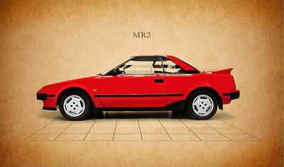 Toyota Mr2 Poster by Mark Rogan