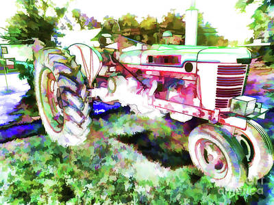 Tractor 2 Poster by Lanjee Chee