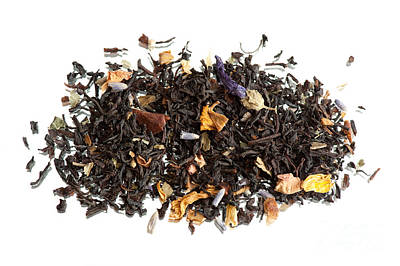 Traditional Black Dried Tea With Additions Poster by Arletta Cwalina