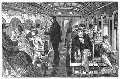 Train: Passenger Car, 1876 Poster by Granger