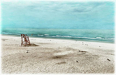 Tranquility On Tybee Island Poster by Tammy Wetzel