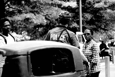 Trash. Talking. Cop Poster by D Justin Johns