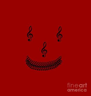Treble Smile Poster by Linsey Williams