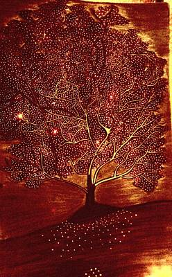 Tree Of Hopes Poster by Sahar Abid