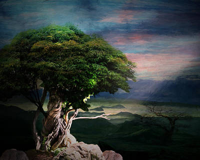 Tree Spirit Poster by Terry Fleckney