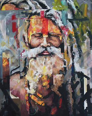 Tribal Chief Sadhu Poster by Richard Day