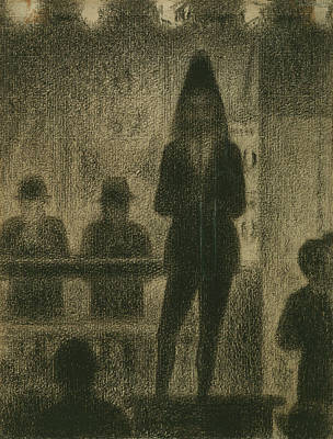 Trombonist  Poster by Georges-Pierre Seurat