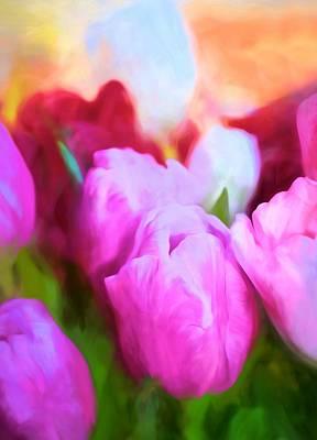 Tulip 58 Poster by Pamela Cooper