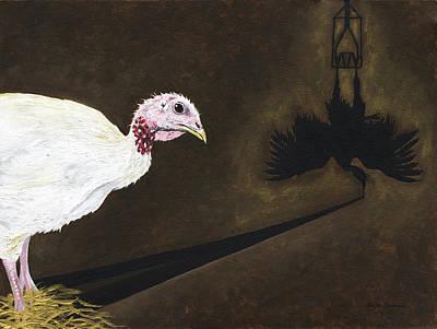 Turkey Shadow Poster by Twyla Francois