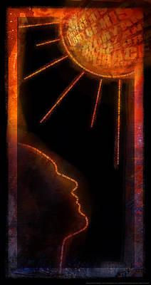 Turn Your Eyes Poster by Shevon Johnson