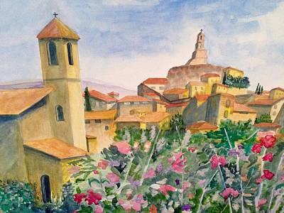 Tuscan Town Poster by Heidi Patricio-Nadon