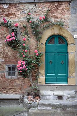 Tuscany Entrance Cortona Poster by Al Hurley