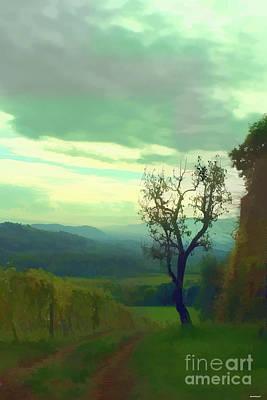 Tuscany Vineyard  Poster by Tom Prendergast