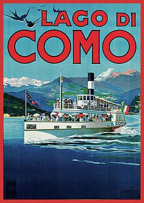 Lago Di Como Poster by Unknown Artist