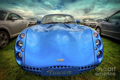 Tvr Tuscan Poster by Adrian Evans