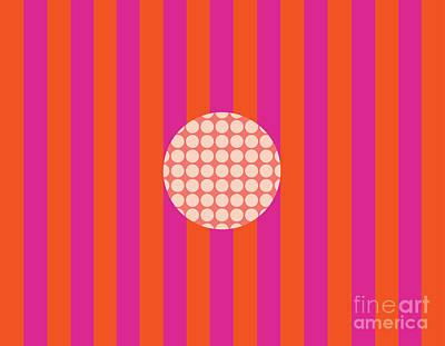 Twiggy Pink--hot Poster by Patti Britton