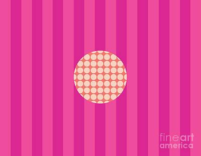 Twiggy Pink--pink Poster by Patti Britton