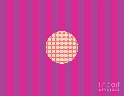 Twiggy Pink--purple Poster by Patti Britton
